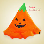 Picture of a jack-o-lantern hat — Stock Photo