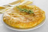 Tortilla de patatas, spanish omelet — Stock Photo