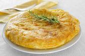 Tortilla de patatas, spansk omelett — Stockfoto