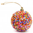 Candy christmas ball — Stockfoto