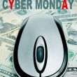 Stock Photo: Cyber monday