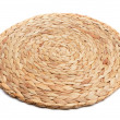 Natural fibers braided trivet mat — Stock Photo