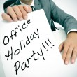 Office holiday party — Stock Photo