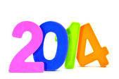 2014, as the new year — Stock Photo
