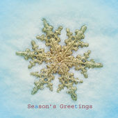 Seasons greetings — Stock Photo