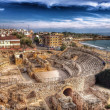 Amphitheater Roman in Tarragona — Stock Photo