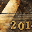 2014, as the new year — Stock Photo #36218985