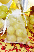 Spanish twelve grapes of luck — Stock Photo