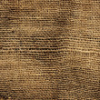 Old burlap fabric — Stock Photo