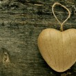 Stock Photo: Heart-shaped ornament