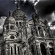 Sacre-Coeur Basilica in Paris, France — Stock Photo