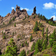 Roque Nublo in Gran Canaria, Spain — Stock Photo