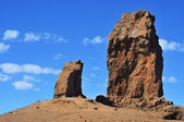 Roque Nublo monolith in Gran Canaria, Spain — Stock Photo