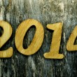 2014, as the new year — Stock Photo #37121097