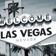 welcome to fabulous las vegas sign — Stock Photo #37399689