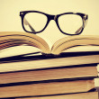 Books and eyeglasses — Stock Photo #37447171