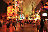 Fremont Street in Las Vegas, United States — Stock Photo