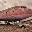 Ramshackle airplane — Stock Photo #37604715