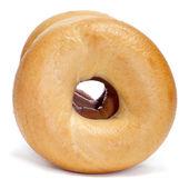 Plain bagels — Stock Photo
