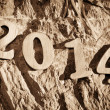 2014, as the new year — Stock Photo #38361265