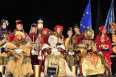 Cavalcade of Magi in Tarragona, Spain — Foto Stock