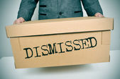 Dismissed — Stock Photo