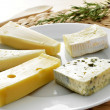 Stock Photo: Cheese assortment