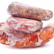 Stock Photo: Frozen meat