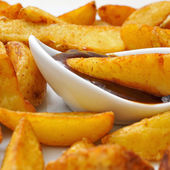 Home fries — Stock Photo