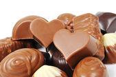Chocolate bonbons — Stock Photo