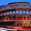 Flavian Amphitheatre or Coliseum in Rome, Italy — Stock Photo #39844415