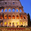 Flavian Amphitheatre or Coliseum in Rome, Italy — Stock Photo