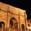 Arch of Constantine and Coliseum in Rome, Italy — Stock Photo #39870957