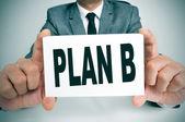 Plan B — Stockfoto