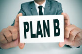 Plán b — Stock fotografie