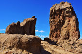 Roque Nublo monolith in Gran Canaria, Spain — Stock Photo