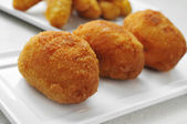 Croquetas, spanish croquettes — Stock Photo