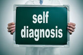 Self diagnosis — Stock Photo
