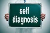 Selbstdiagnose — Stockfoto