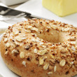 Seed brown bagel — Stock Photo