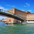 Ponte della Costituzione over the Grand Canal in Venice, Italy — Stock Photo