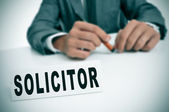 Solicitor — Stock Photo