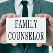 Family counselor — Stock Photo #41709961