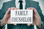 Family counselor — Stock Photo
