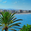 Stock Photo: North Beach in Peniscola, Spain