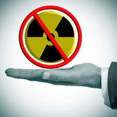 No nuclear power — Stock Photo