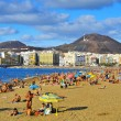 Las Canteras Beach in Las Palmas, Gran Canaria, Spain — Stock Photo #42193803