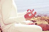 Meditation — Stock Photo