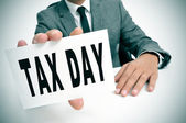 Tax day — Stock Photo