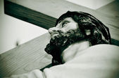 Jesus Christ carrying the Holy Cross — Foto de Stock